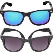 Aligatorr Combo Of 2 Wayfarer Wayfarer Unisex Sunglasses kc merfoldCRLK