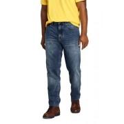 Lands' End Relaxed Fit Denim-Jeans für Herren, in Wunschlänge - Blau - 46 von Lands' End