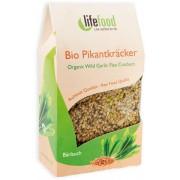 Crackers cu leurda raw bio 90g Lifefood
