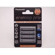 Acumulatori Panasonic Eneloop Pro HR03 AAA 930mAh 1,2V blister 4 BK-4HCDE