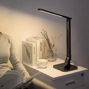 Lampa de birou LED TaoTronics control Touch 4 moduri de lumina 14 W USB
