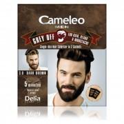 CAMELEO MEN - Boja protiv sedih - Za kosu, bradu i brkove - 3.0 tamno smedja 2x15ml