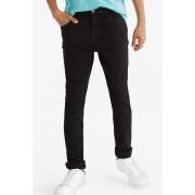 C&A Jeans-slim-biokatoen-extrawijd, Zwart, Maat: 128