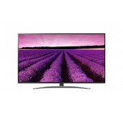 Televizor UHD LG 49SM8200PLA, 123 cm, Smart TV, 4K Ultra HD, Smart ThinQ, Tehnologie NanoCell, Bluetooth 5.0, Wi-Fi, Sunet stereo, Clasa energetica A, Negru