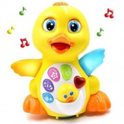 Zone Musical Toys Duck Lights Action Kids Music Toys with Adjustable Sound, Toys for Girls and Boys Kids or Toddlers