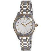 Seiko Analog White Dial Womens Watch - Srz432P1