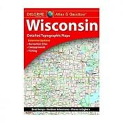 Delorme Wisconsin Atlas and Gazetteer: Dewi, Paperback/Rand McNally