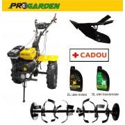 Pachet Motosapa profesionala Progarden HS1100 18 (fara diferential) + 2l ulei motor 3l ulei transmisie + Rarita reglabila