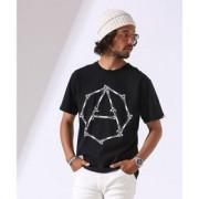 Let it Ride/LIR別注プリントTシャツ 4【ナノ・ユニバース/nano・universe メンズ Tシャツ・カットソー ブラック ルミネ LUMINE】