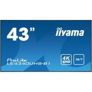 Iiyama LE4340UHS-B1 - 4K LED Monitor (43 inch)