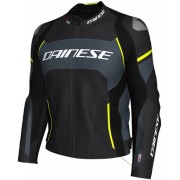 Dainese Racing 3 D-Air® Airbag Motorcycle Leather Jacket - Size: 52