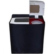Glassiano Navy Blue Waterproof Dustproof Washing Machine Cover For semi automatic Onida Smart Wash 75 7.5 Kg Washing Machine