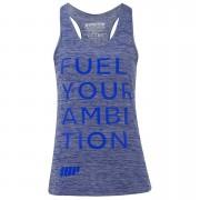Myprotein Women's Performance Slogan Vest - Blue - UK 12 - Blu