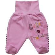 Polodupačky pre bábätká- CUTIE, ružové veľkosť: 62