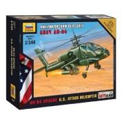 Zvezda AH-64 Apache U.S. Attack helikoőter makett 7408