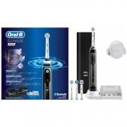 Periuta de dinti electrica Oral-B Smart 4 4000 Series Cross Action, Curatare 3D, 3 programe, 2 capete, Bluetooth, Alb