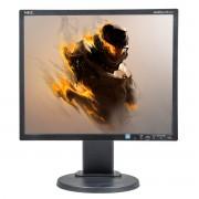 NEC EA192M, 19 inch LED, 1280 x 1024, displayport, negru - argintiu