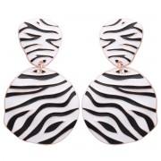 Cercei Zebra Gold