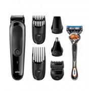 Тример за лице и коса Braun MGK3060 + подарък самобръсначка Gillette