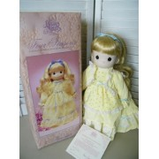 The Enesco Precious Moments Collection Four Seasons Limited Edition Porcelain Bisque Doll Summers Joy
