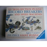 Ravensburger Record Breakers And Speed Machines 200 Piece Giant Puzzle