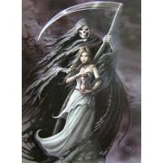 zászló Anne Stokes - Summon The Reaper - HFL1029