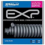 DAddario Sngl Bass Exp Nickel 045 Long