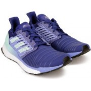 ADIDAS SOLAR BOOST W Running Shoes For Women(Blue)