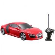 Maisto R/C 1:24 Scale Audi R8 V10 Radio Control Vehicle (Colors May Vary)