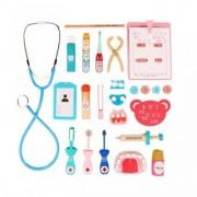 Trusa medicala lemn- La dentist