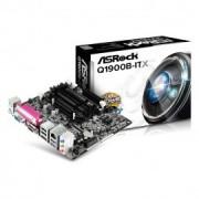 TARJETA MADRE ASROCK Q1900B-ITX 2xSO-DDR3 VGA HDMI BAYTRAIL QUAD CAJA