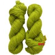 Vardhman Butterfly Light Green 300 gm hand knitting Soft Acrylic yarn wool thread for Art & craft Crochet and needle