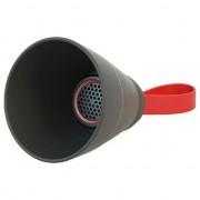 difuzor CAMERA NoName Bluetooth, 3W, controlul volumului, negru, pliabil, rezistent la apa, Bluetooth + USB + 3,5 mm conector
