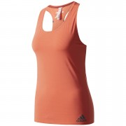 adidas Women's Climachill Tank Top - Easy Coral - M - Easy Coral