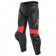 DAINESE Pant DAINESE Delta 3 Black / Fluo-Red