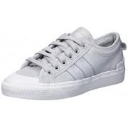Adidas Originals Nizza Zapatillas de Cuna para Hombre, Gris Sólido/Cristal Blanco/Gum, 9 US