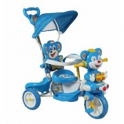 OH BABY HUD SEAT Tricycle with Cycle with Canopy COLOR (BLUE)SE-TC-98