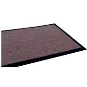 Hnědá textilní vstupní vnitřní čistící rohož - délka 200 cm, šířka 100 cm a výška 1,2 cm