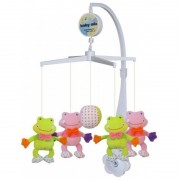 Carusel muzical Frogs Baby Mix