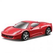 Bburago 1/43 Ferrari Race & Play 458 Italia