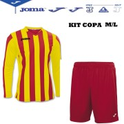 Joma- Completo Calcio - Kit Copa Manica Lunga
