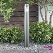 vidaXL Vrtna stupna svjetiljka *od nehrđajućeg čelika