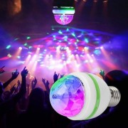 HFK Diwali Colourful Laser Light Disco Party Bulb 360 Rotate