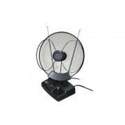 Antena TV cu amplificare UVR-AV888, LED, receptie FM superioara