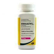 Tableta Antiinflamatoria Pfizer Rimadyl 25 mg - Azul