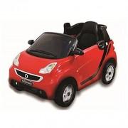 Smart for two cabrio rossa