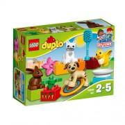 Set de constructie LEGO Duplo Animalutele Familiei