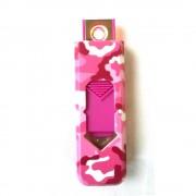 USB öngyújtó - Terepmintás - Pink