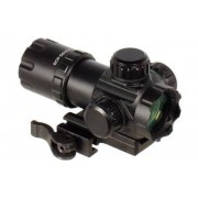 "Leapers/UTG UTG 3.9"" ITA Red/Green Dot Sight with QD Mount and Flip-open Lens Caps"