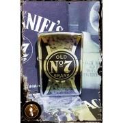 Bricheta Zippo Jack Daniels Old No. 7 High Polish Chrome